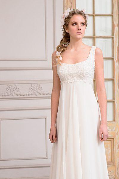 40df809d3 Vestido de novia bordado