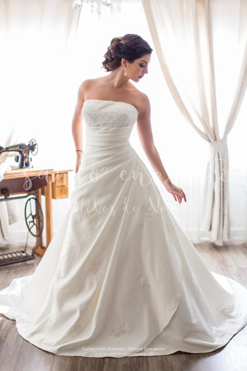 Vestidos de novia no strapless