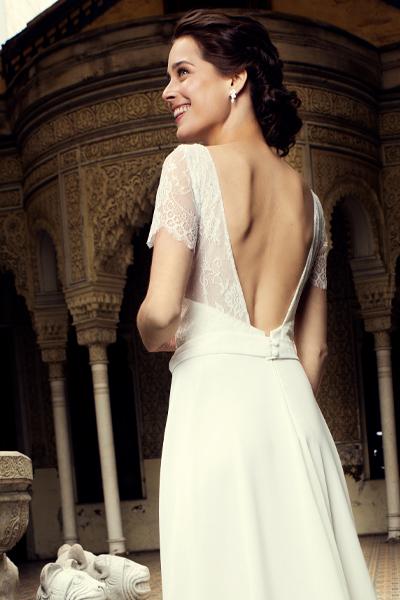 vestido novia español