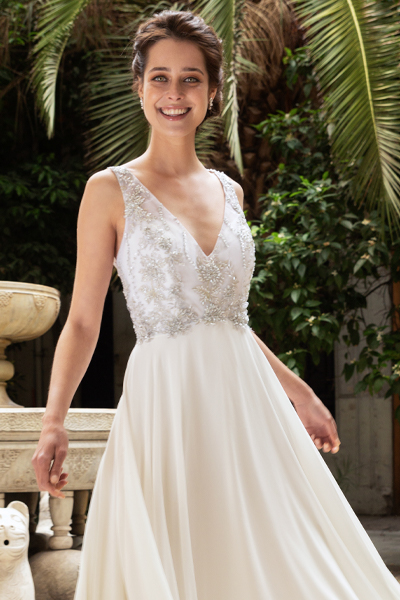 Vestido novia silver